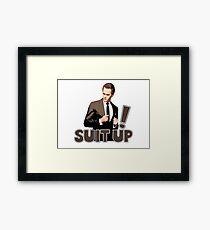 Suit Up! Framed Print