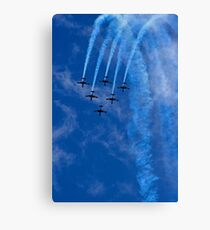 Roullettes Smokin' Over Canvas Print
