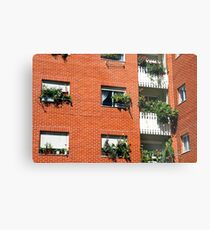 Apartment block  Metal Print