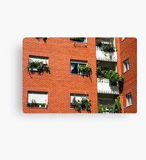 Apartment block  Canvas Print