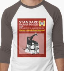 Workshop Manual - Standard CB AGV - BW Men's Baseball ¾ T-Shirt