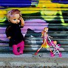 Pram Barbie with Shadow Doll  by jlara