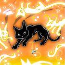 Feline Fire by Gioppo
