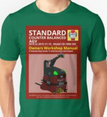 Workshop Manual - Standard CB AGV - Colour Unisex T-Shirt
