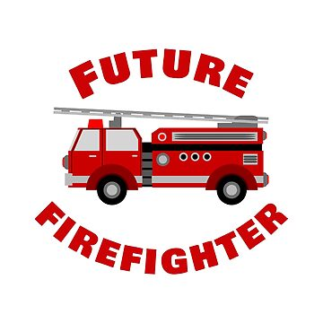 Fire Engine Future Firefighter by Designedwithtlc