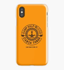 Percy Jackson - Camp Half-Blood - Cabin Three - Poseidon iPhone Case