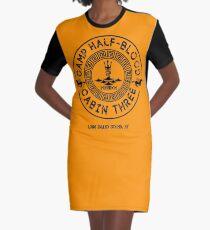 Vestido camiseta Percy Jackson - Campo Mestizo - Cabina Tres - Poseidón