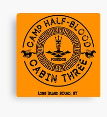 Percy Jackson - Camp Half-Blood - Cabin Three - Poseidon Canvas Print