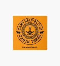 Percy Jackson - Camp Half-Blood - Cabin Three - Poseidon Art Board