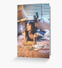 Mia Wallace Greeting Card