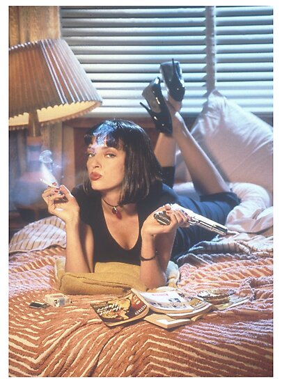 Mia Wallace by Alfie Akers
