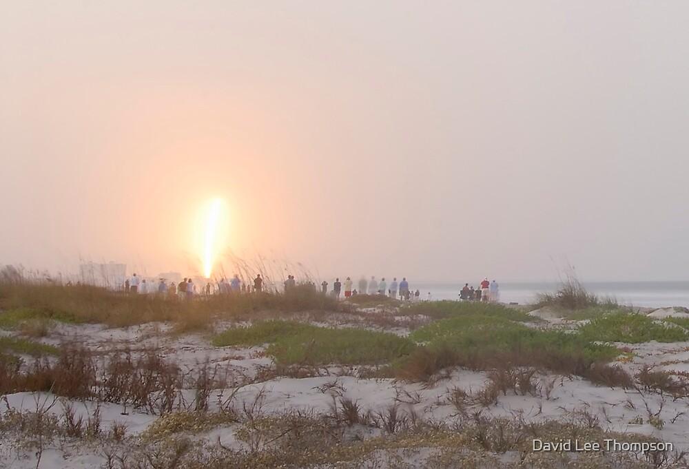 Beach Launch by David Lee Thompson