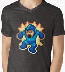 Megaman Damage Men's V-Neck T-Shirt
