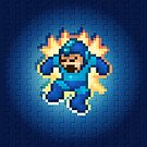 Megaman Damage by likelikes
