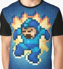 Megaman Damage Graphic T-Shirt