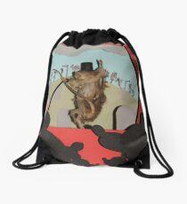 Vaudeville Drawstring Bag