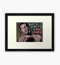 Yippee Ki Yay & Merry Christmas - Die Hard Framed Print