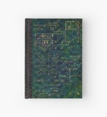Dragonhide Math Notebook Hardcover Journal