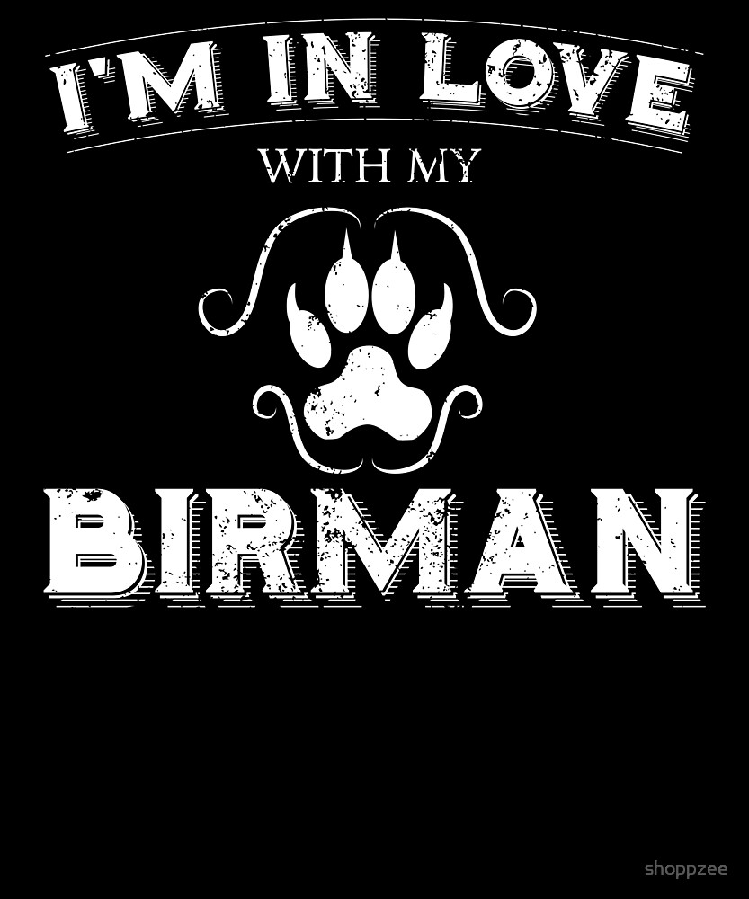 My Anti Valentine Birman Cool Cat Owner Shirt by shoppzee