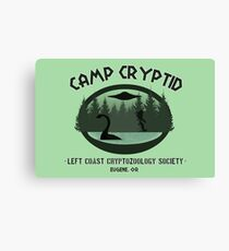 Camp Cryptid Canvas Print