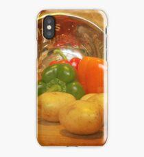 Cascading Vegetables iPhone Case/Skin