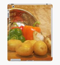 Cascading Vegetables iPad Case/Skin