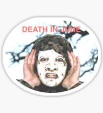 Death in june Sticker