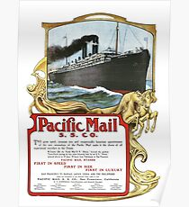 Pacific Mail Poster