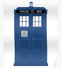 Dr Who T.A.R.D.I.S  Poster