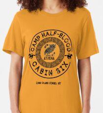 Cabin Six - Athena - Percy Jackson - Camp Half-Blood -  Slim Fit T-Shirt