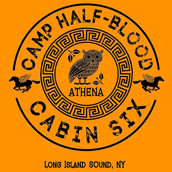 Cabin Six Athena Percy Jackson Camp Half Blood Posters By