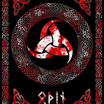 Óðinn's Triskele by Sarinilli