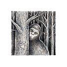 Tree Peeker  by Brett Manning