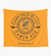 Cabin Six - Athena - Percy Jackson - Camp Half-Blood -  Wall Tapestry