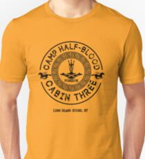 Percy Jackson - Camp Half-Blood - Cabin Three - Poseidon Slim Fit T-Shirt