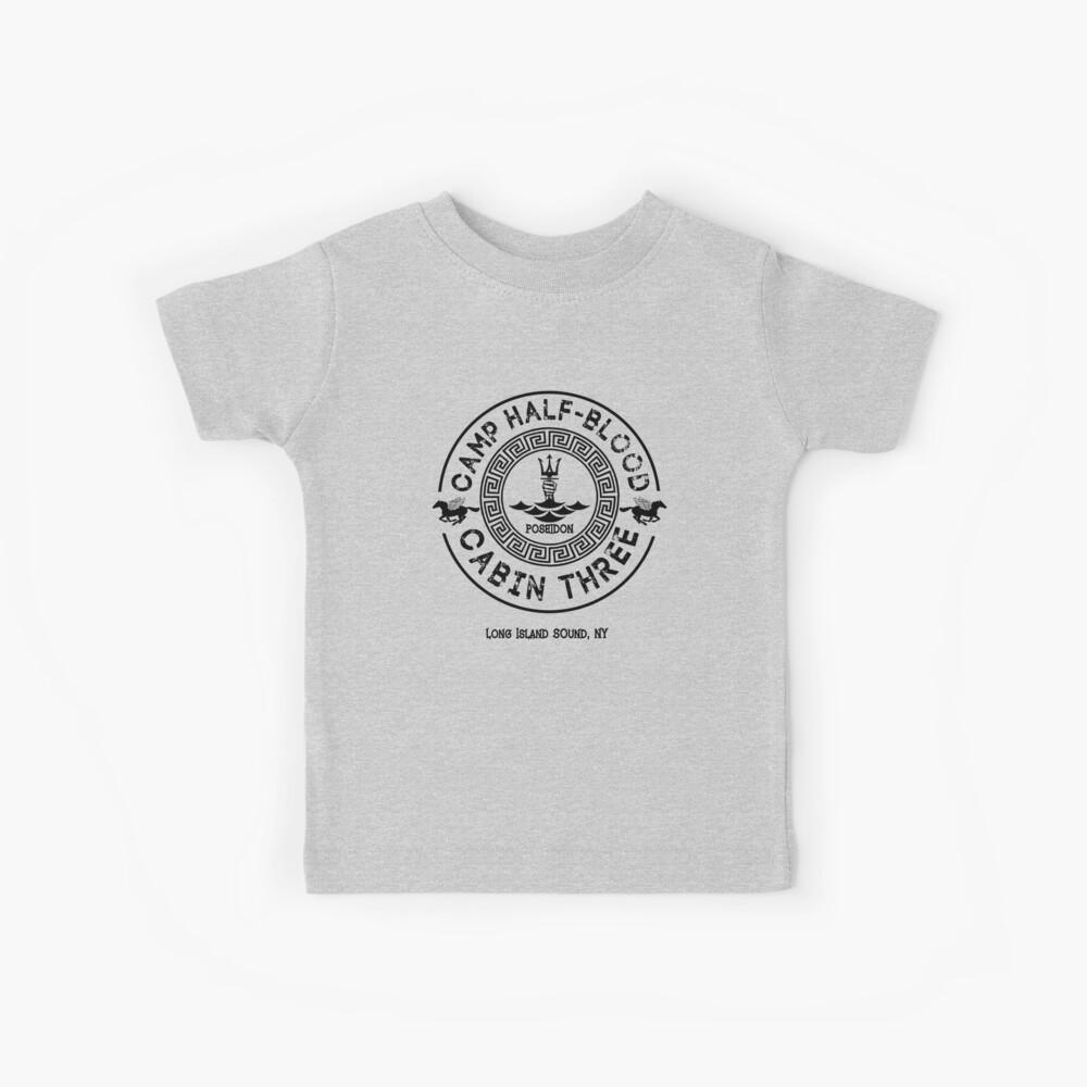 Percy Jackson - Camp Half-Blood - Cabin Three - Poseidon Kids T-Shirt
