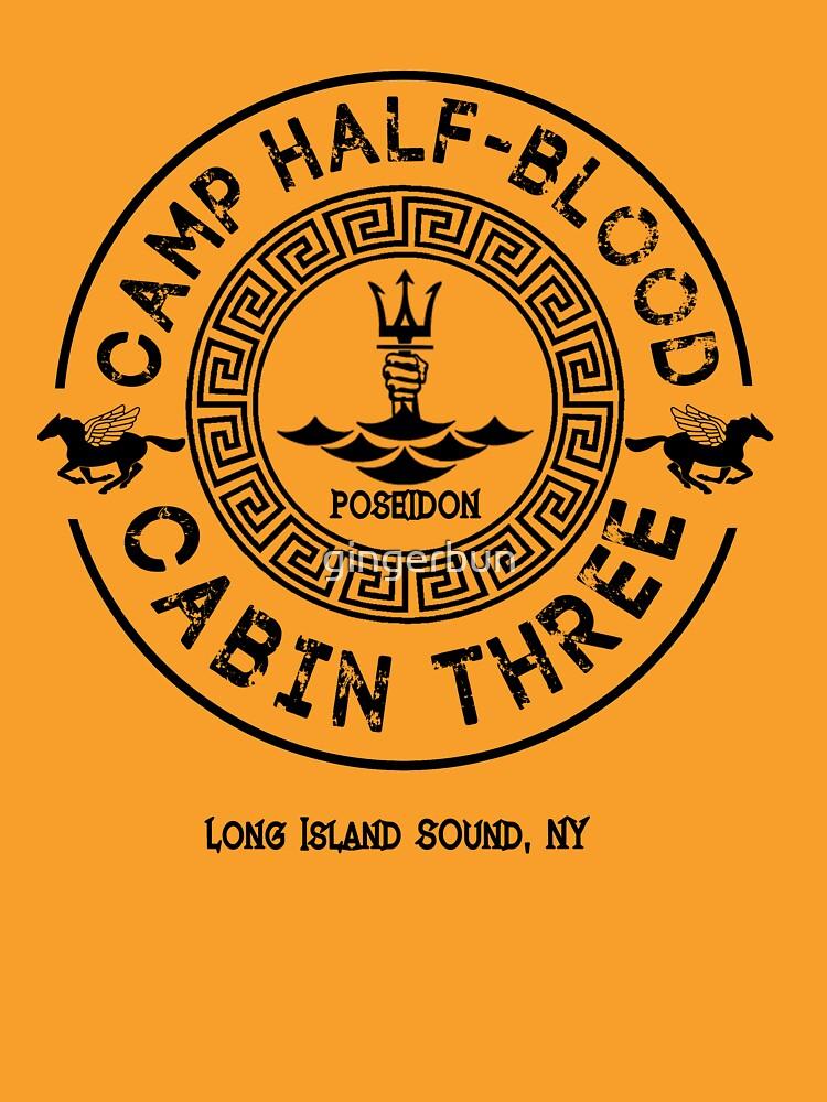 Percy Jackson - Camp Halbblut - Hütte Drei - Poseidon von gingerbun