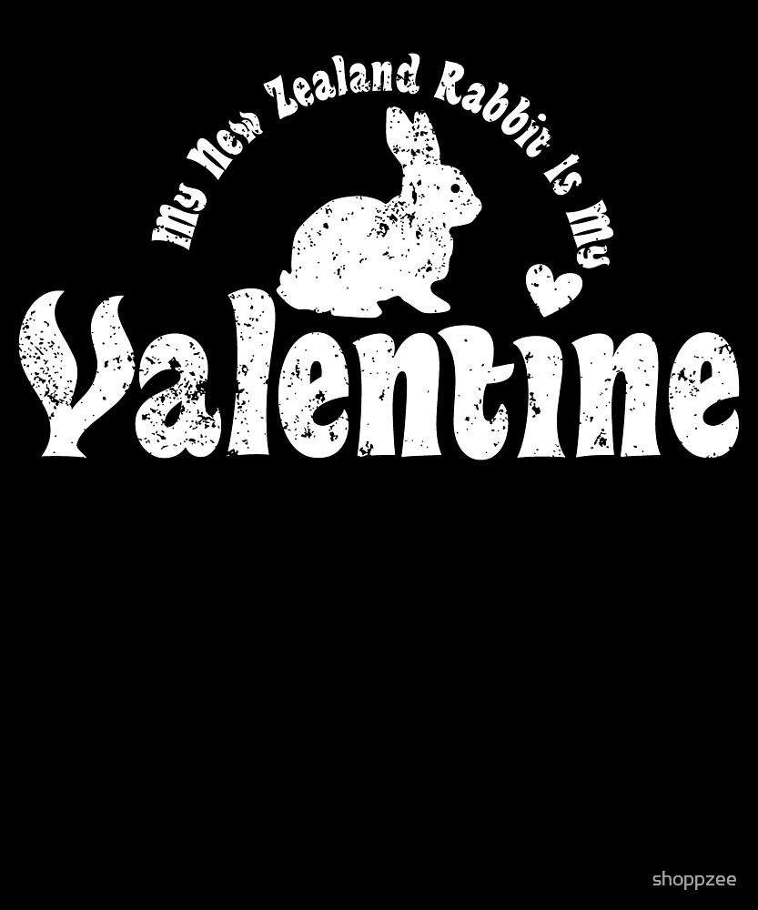 My Anti Valentine Pet New Zealand Rabbit by shoppzee