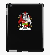 Rush Coat of Arms - Family Crest Shirt iPad Case/Skin