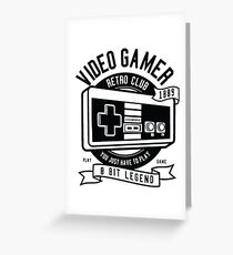 Video game Greeting Card
