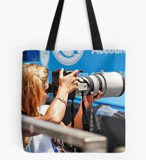 Heavy lifting photography Tote Bag
