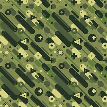 Geometric Camo by typeyeah