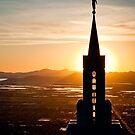 Bountiful Steeple Sunset by Kory Trapane