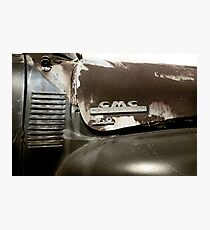 Abandoned GMC 150 Pickup - Detail Photographic Print