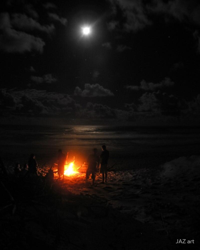 Full moon madness... by JAZ art