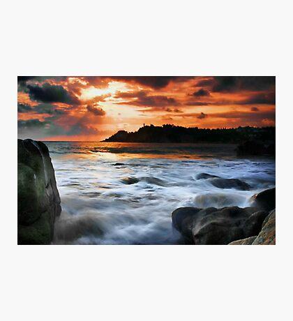Evening Surf Photographic Print