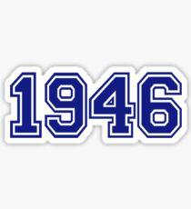 1946 Sticker