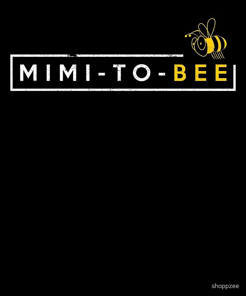Mimi To Bee Grandma Gift Grandma To Be Gifts by shoppzee