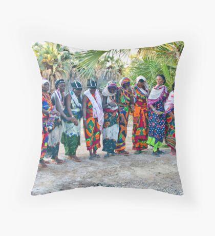 Kalacha dancers Throw Pillow