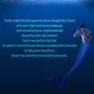 Forbidden Tides Zander Quote Poster by KylaStanAuthor